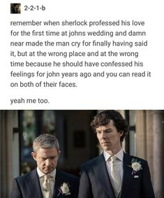 You didn't have to beat up my emotions that hard, but ya did Sherlock Holmes Bbc, Sherlock Fandom, Sherlock Quotes, Sherlock John, Elementary Sherlock, Deep Photos, Mycroft Holmes, Captive Prince, John Watson