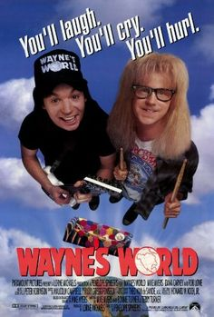 Wayne's World Poster Movie 27x40 Mike Myers Dana Carvey Rob Lowe postersdepeliculas http://www.amazon.com/dp/B000KA5XC0/ref=cm_sw_r_pi_dp_2meTtb1Y56H8YF0K
