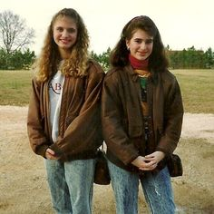 At some point in the late 80s, teenage girls (and boys) were walking around like they were straight out of the Air Force Academy. The bomber jacket was all the …