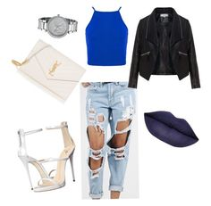 """""""Untitled #27"""" by tay-liangg on Polyvore featuring Giuseppe Zanotti, Zizzi, Yves Saint Laurent, Michael Kors, women's clothing, women, female, woman, misses and juniors"""