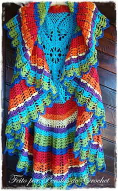 Fada do Crochet LOVE THESE COLORS