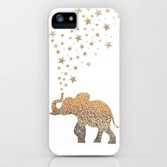 GATSBY ELEPHANT iPhone & iPod Case by Monika Strigel - $35.00