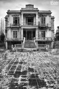 The Salem Mansion (by *V-Light), in the center of Thessaloniki, Greece, was built in 1878. In 1887 it was bought by the most important lawyer of the city and eminent member of the Jewish Community Emmanuel Salem and for 30 years it remained his family's house. During WW1 it changed occupants: after the departure of the Salems in 1915 it was used as the Consulate of the Austro-Hungarian Empire and then was used as the Italian Consulate. The mansion has been empty since 1978.