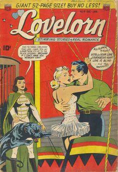 Comic Book Cover For Lovelorn #9
