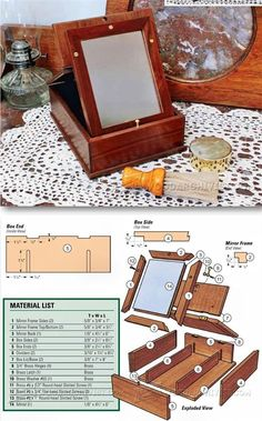 Shaving Box Plans and Projects - Woodworking Plans and Projects | WoodArchivist.com