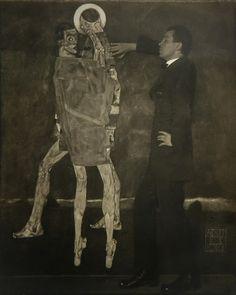 Egon Schiele, egon schiele photographed by anton josef trčka, vienna, 1914 on ArtStack #egon-schiele #art