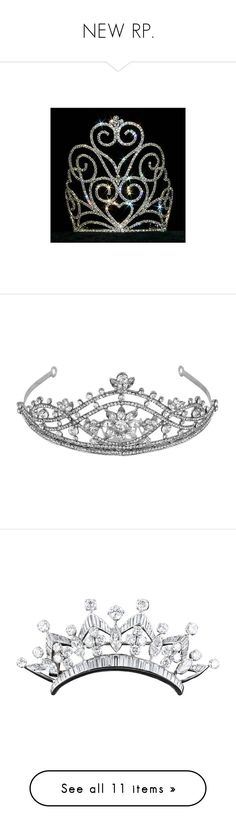 """NEW RP."" by melliebelle04 ❤ liked on Polyvore featuring tiara's, accessories, jewelry, tiaras, crowns, hats, women's jewellery, circle, circular and round"