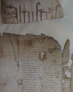 Fragmento de #documento restaurado. Fijaos en lo minúsculo de la #letra  (Archivo Hco de Cuenca)  #Archivos #Notarios pic.twitter.com/DE0g0yvSVx