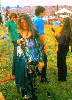 Janis at Woodstock