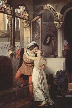 Romeo & Juliet. High quality vintage art reproduction by Buyenlarge. One of many rare and wonderful images brought forward in time. I hope they bring you pleasure each and every time you look at them.