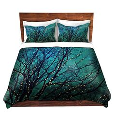 Duvet Covers Premium Woven Twin Queen King from DiaNoche Designs by Sylvia Cook Home Decor and Bedding Ideas  Magical Night * Visit the image link more details.