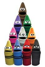 School Programming - Crayon Puppets