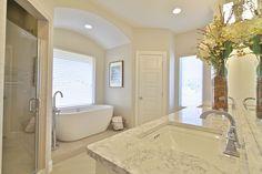 Master Bath by Stonebridge Design + Build