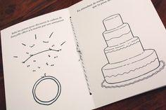 Anne Morin I Call me Madame Wedding List, Diy Wedding, Dream Wedding, Wedding Day, October Wedding, Autumn Wedding, Kids Wedding Activities, Wedding Illustration, Rainbow Wedding