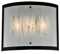 3 Light Metro Fusion Twigs Glass Wall Sconce