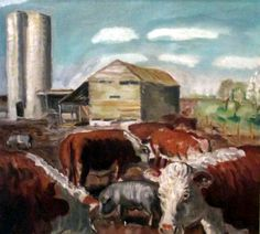 The Curry Farm, John Steuart Curry, 1930