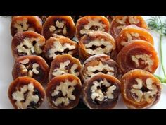How to make Gotgamssam (or kkotgamssam), Walnuts wrapped in persimmons from Maangchi.com