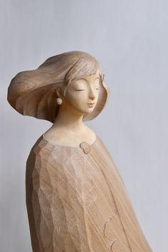 Wood Carving, Kos, Sculpture Art, Statue, Wood Sculpture, Wood Carvings, Woodcarving, Aries, Wood Turning