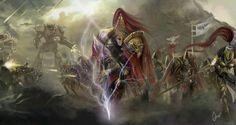 Kustodes Warhammer40k Final Version by slaanesh-goddess