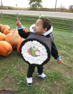 Carina: I made this costume for my 20 month old daughter. I got the idea off the internet last year but saved it for this year because I thought it would...