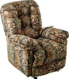 Orlando Recliner with Power – Cabela's Seclusion 3D #CabelasWishList