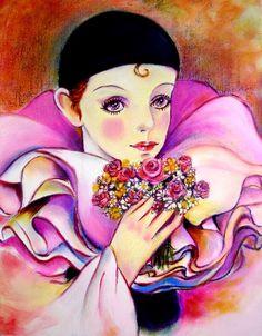 """✽ ✽ ✽  """"Pierrot"""" ✽ ✽ ✽"""