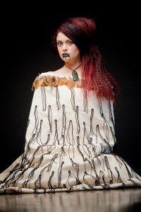 Beautiful Maori hair style by Ann Garrett