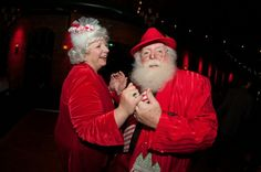 Santa Claus and Mrs Claus night out Santa Claus Photos, Mrs Claus, Night Out, Christmas, Xmas, Navidad, Noel, Natal, Kerst