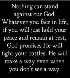 Just remain faithful to God and trust that He is going to see you through Holdon believe keeplookingup bwrightjones trusttheprocess faith itsonlyatest keepthefaith faith Godiswithyou Jesuswillworkitout bestrong dontloosehope Hold Your Peace, Peace And Love, Spiritual Warfare Quotes, Faith Quotes, Life Quotes, Qoutes, Uplifting Thoughts, Spiritual Thoughts, Inspirational Quotes For Women