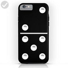Society6 Black Domino / Domino Negro Tough Case iPhone 6s - Fun stuff and gift ideas (*Amazon Partner-Link)