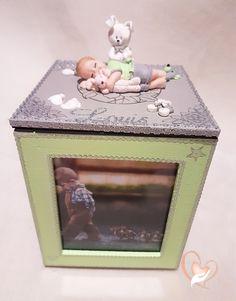 Cadre photo rotatif bébé garçon - au coeur des arts - Enfants - Au coeur des Arts