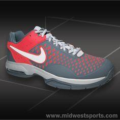Nike Air Cage Advantage Women's Tennis Shoe (# 599365-016) Grey / Mi