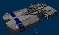 Liberty-class medium starfighter carrier by Shoguneagle
