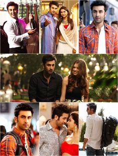 Ranbir's Look in YJHD Bollywood Actors, Bollywood Celebrities, Bollywood Fashion, Shraddha Kapoor, Ranbir Kapoor, Yjhd Quotes, Desi Love, Deepika Padukone Style, Movie Dialogues