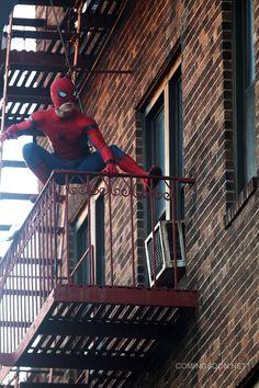 Spider-Man: Homecoming New York Set