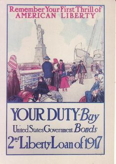Postcard Remember your first thrill of American Liberty