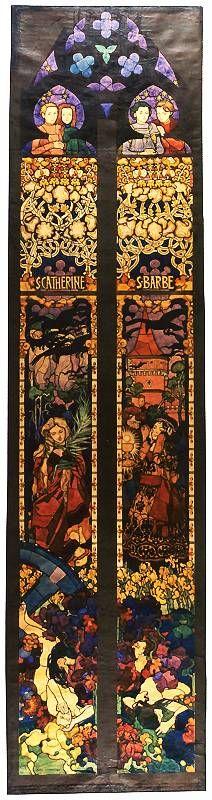Św. Katarzyna i św. Barbara | Józef Mehoffer