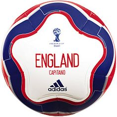 adidas Official 2014 England Capitano Soccer Ball.  Cute ⚽️