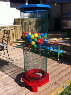 Life Sized - Kerplunk Was super easy to make and can be turn into a fun drinking game at adult parties lol