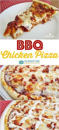 BBQ Chicken Pizza   Food And Cake Recipes