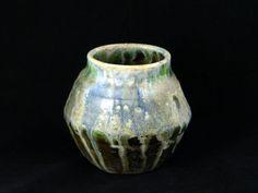 Salt Fired Porcelain Pot by WheelofLightStudio on Etsy