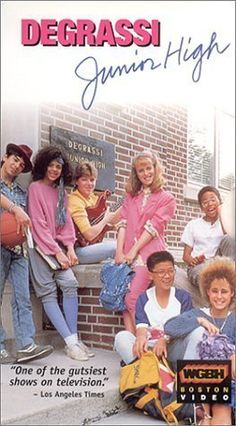 Degrassi Junior High... This is 80s, but I still watched the re-runs in the 90s