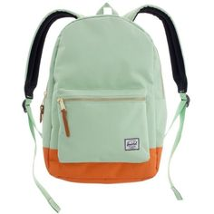 Herschel Supply Co.® X Madewell Colorblock Backpack ($55) ❤ liked on Polyvore