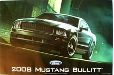 $14.85 - 2008 Mustang Bullitt Poster - Official Ford Motor Company Poster #ebay #Collectibles 2008 Ford Mustang, Ford Mustang Bullitt, Ford Motor Company, Poster, Ebay, Billboard
