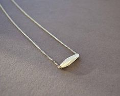 Statement Necklace Geometric Pendant Faceted Silver Jewelry