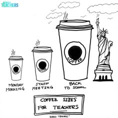 Drawn to scale. Teacher Comics, Teacher Humour, Teacher Stuff, Teaching Memes, Teaching Ideas, Bored Teachers, And So It Begins, Education Humor