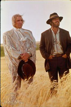 Marlon Brando and Jack Nicholson in 'The Missouri Breaks' (1976)