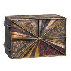 Paul Evans Sculpture Front Wall Cabinet. Available at 1stdibs.com.