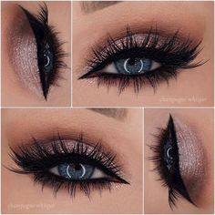 Love the bottom lash in this look!