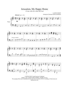 will you come and follow me sheet music pdf